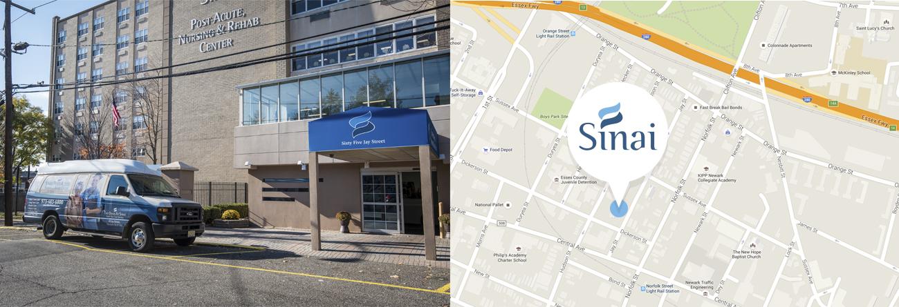 Sinai Post-Acute, Nursing & Rehab Center | Essex County, NJ