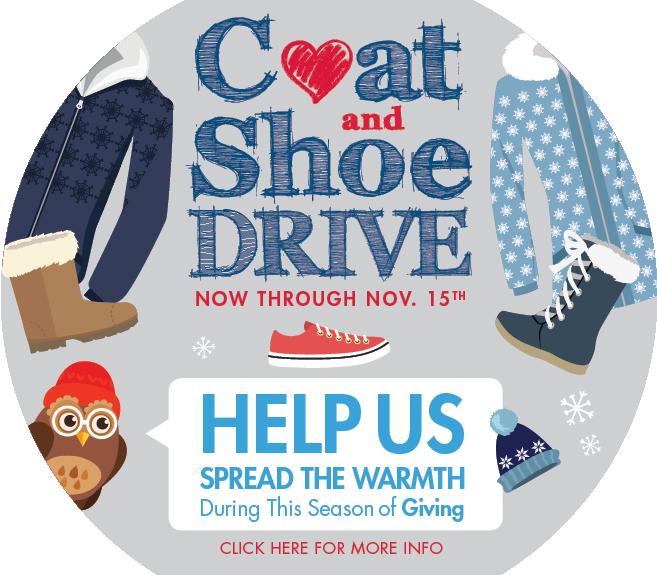 Coat and Shoe Drive 2018