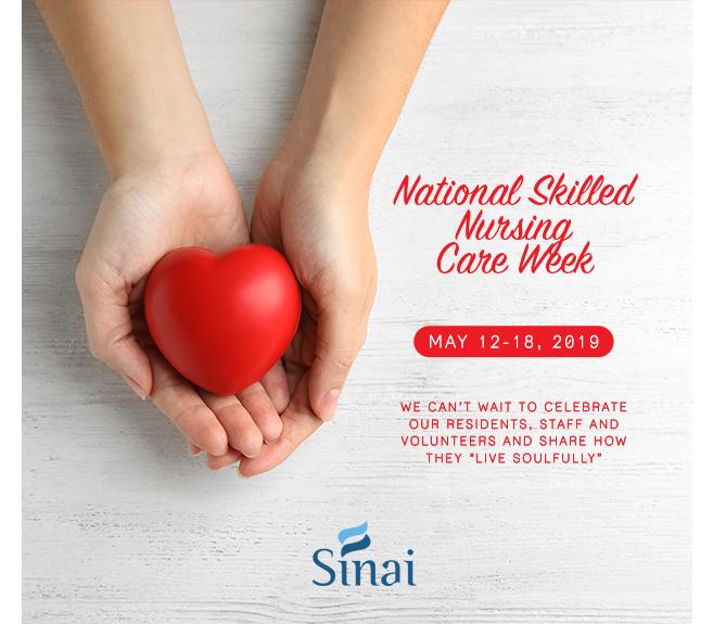 Sinai Nursing week home page circle