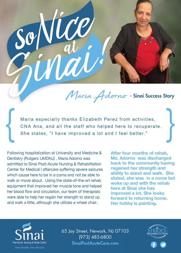 Sinai Testimonial Maria Adorno-01